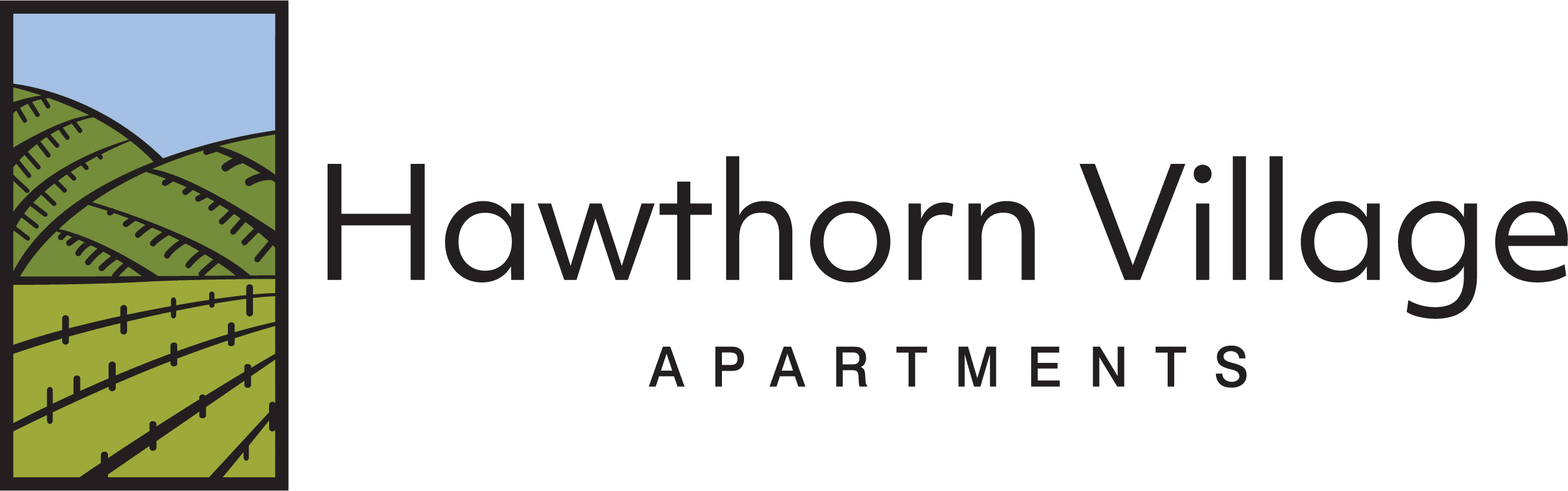 Hawthorn Village Apartments logo