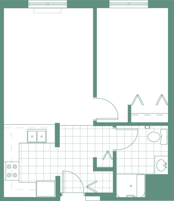 Country Club Hills, IL Senior Living Floor Plans