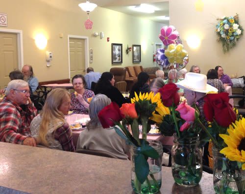 Mother's Day lunch at Bridgecreek