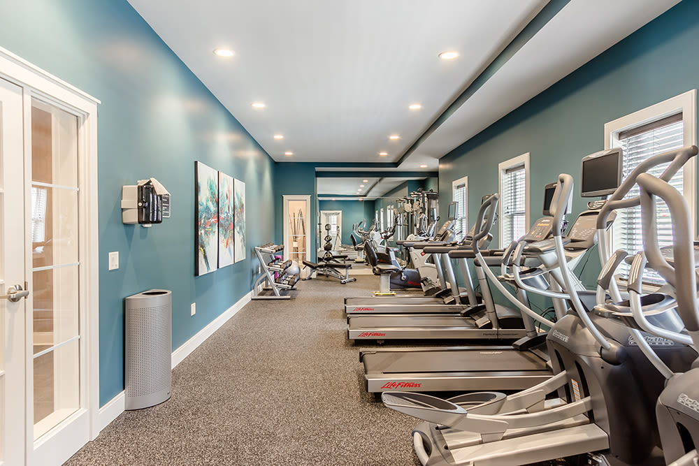 Exercise Room at Ellison Heights Apartments in Rochester, New York