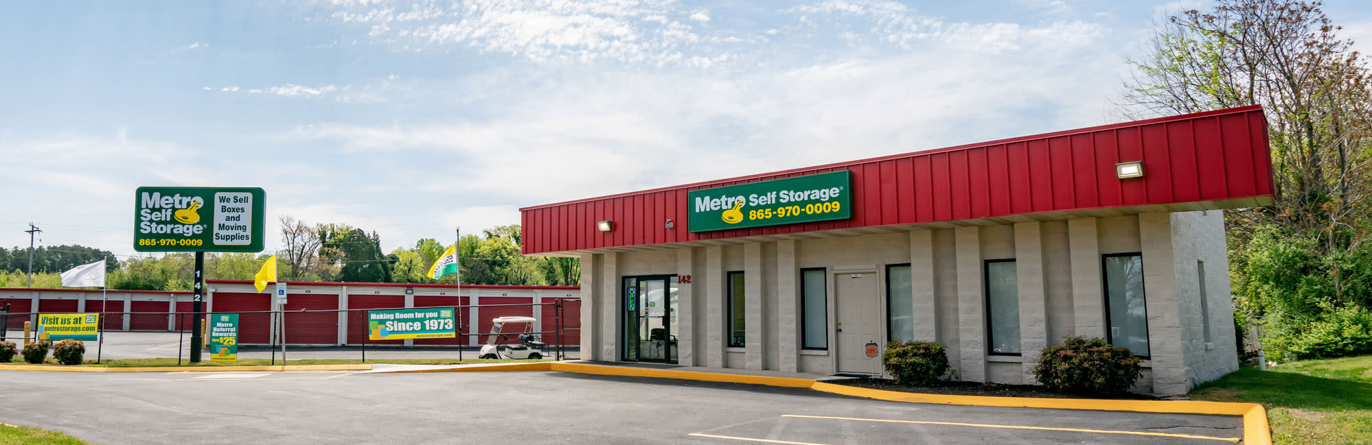 Metro Self Storage in Alcoa, TN