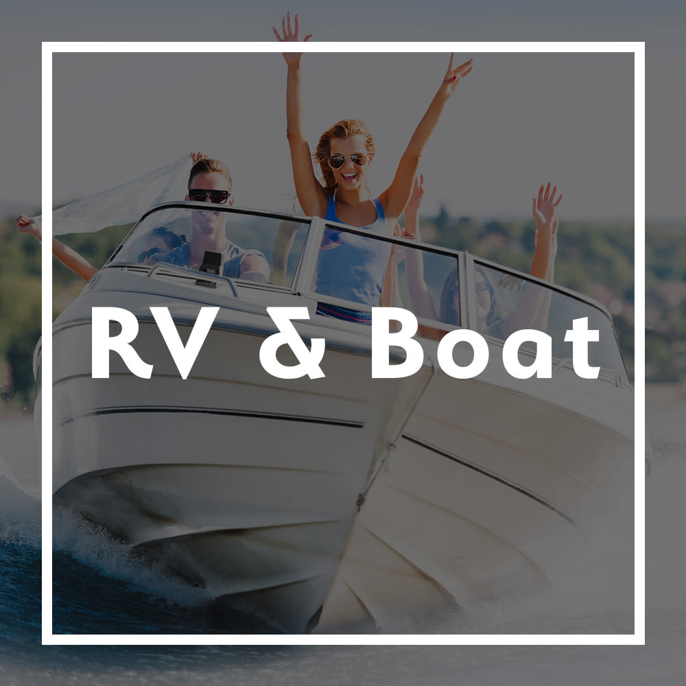 RV and boat storage at Storage Inns of America in Miamisburg, Ohio