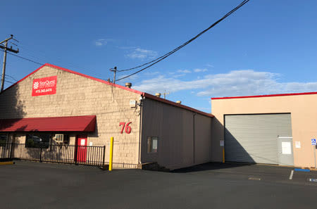 Exterior view of office at StorQuest Self Storage