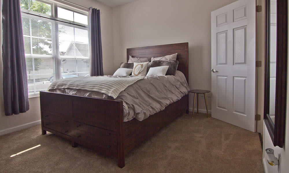 Lovely Bedroom at Chelsea Place in Toledo, Ohio
