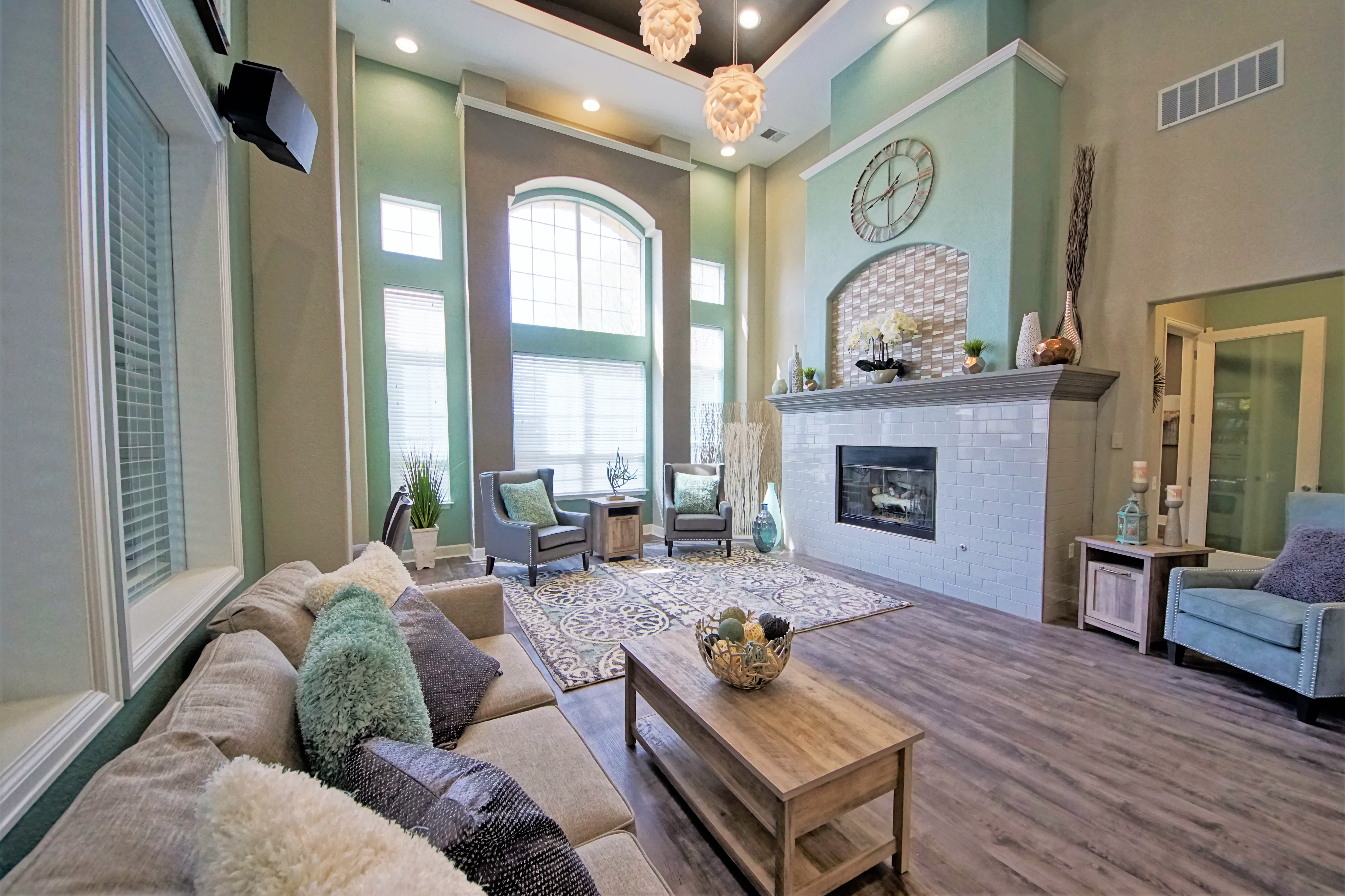 Clubhouse at Reserve at Centerra Apartment Townhomes