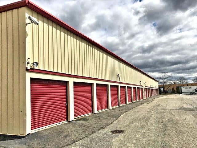 Storage units at Prime Storage in Farmingdale, New York