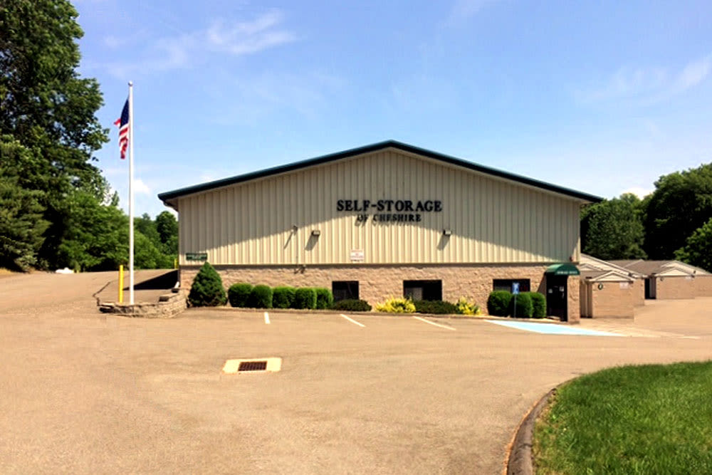 Exterior image of Self Storage of Cheshire in Cheshire, Connecticut