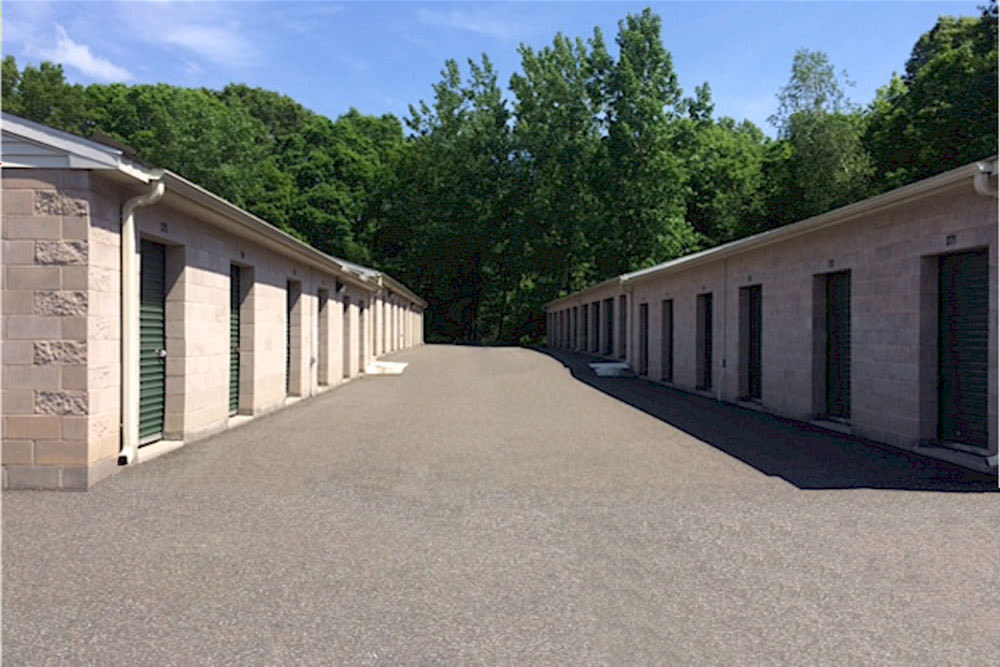 Outdoor units at Self Storage of Cheshire in Cheshire, Connecticut
