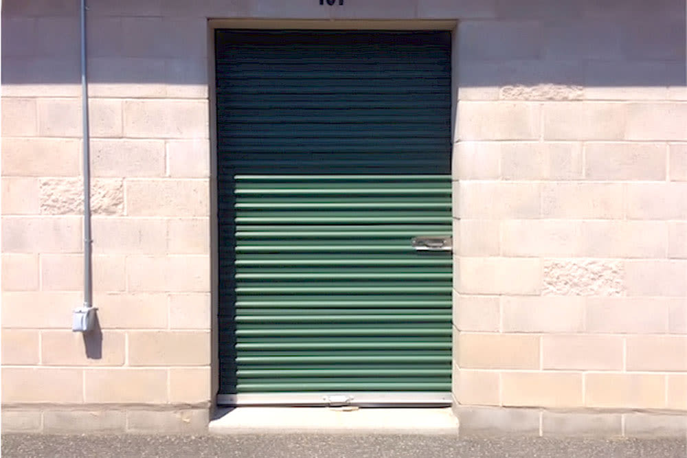 Outdoor unit at Self Storage of Cheshire in Cheshire, Connecticut