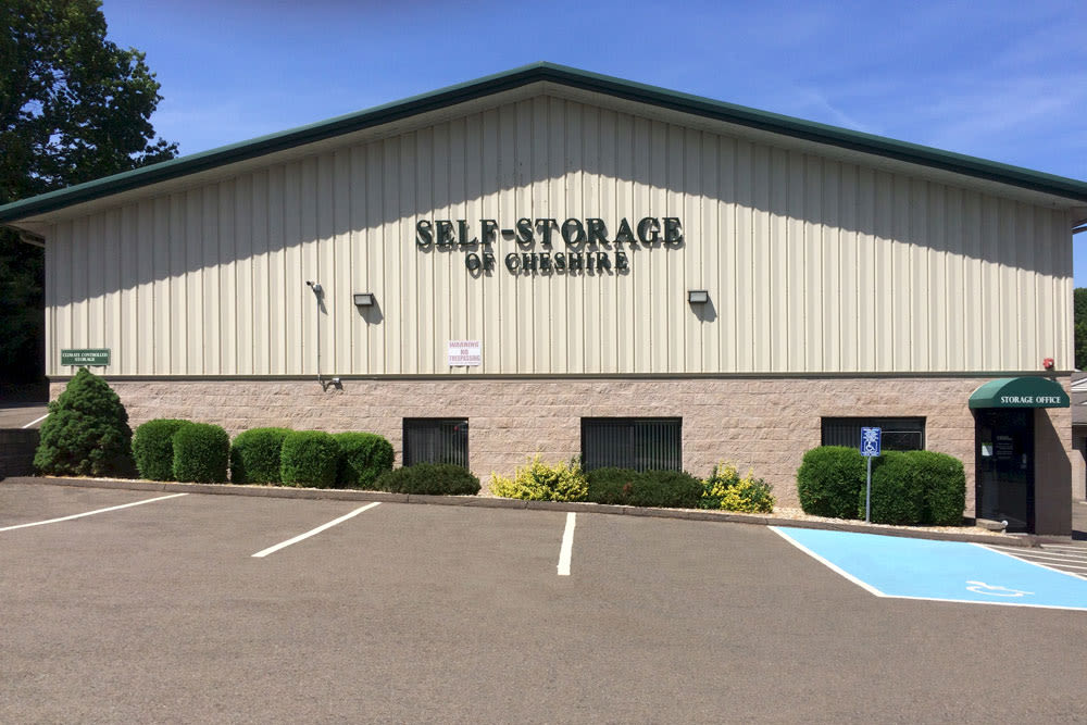 Exterior of Self Storage of Cheshire in Cheshire, Connecticut
