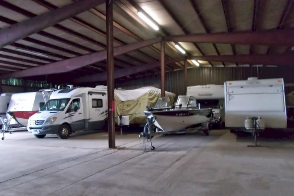 Boat storage at Southington Super Storage in Plantsville, CT