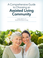 a comprehensive guide to choosing an assisted living community at Grand Villa of Ormond Beach in Florida