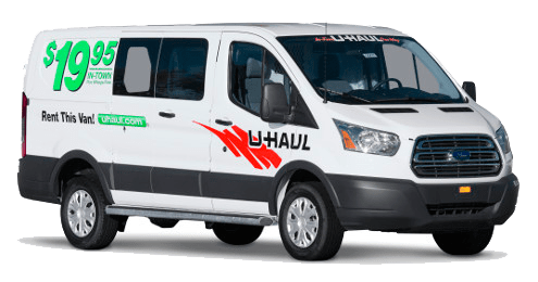 Uhaul truck rentals available at Iron Gate Storage