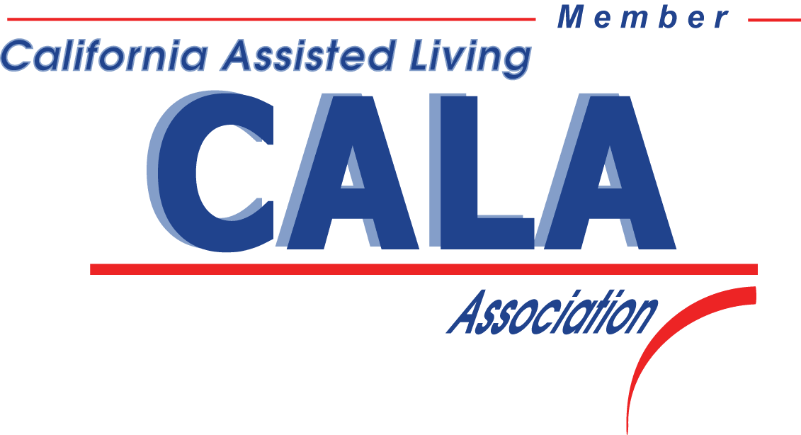 California assisted living association logo