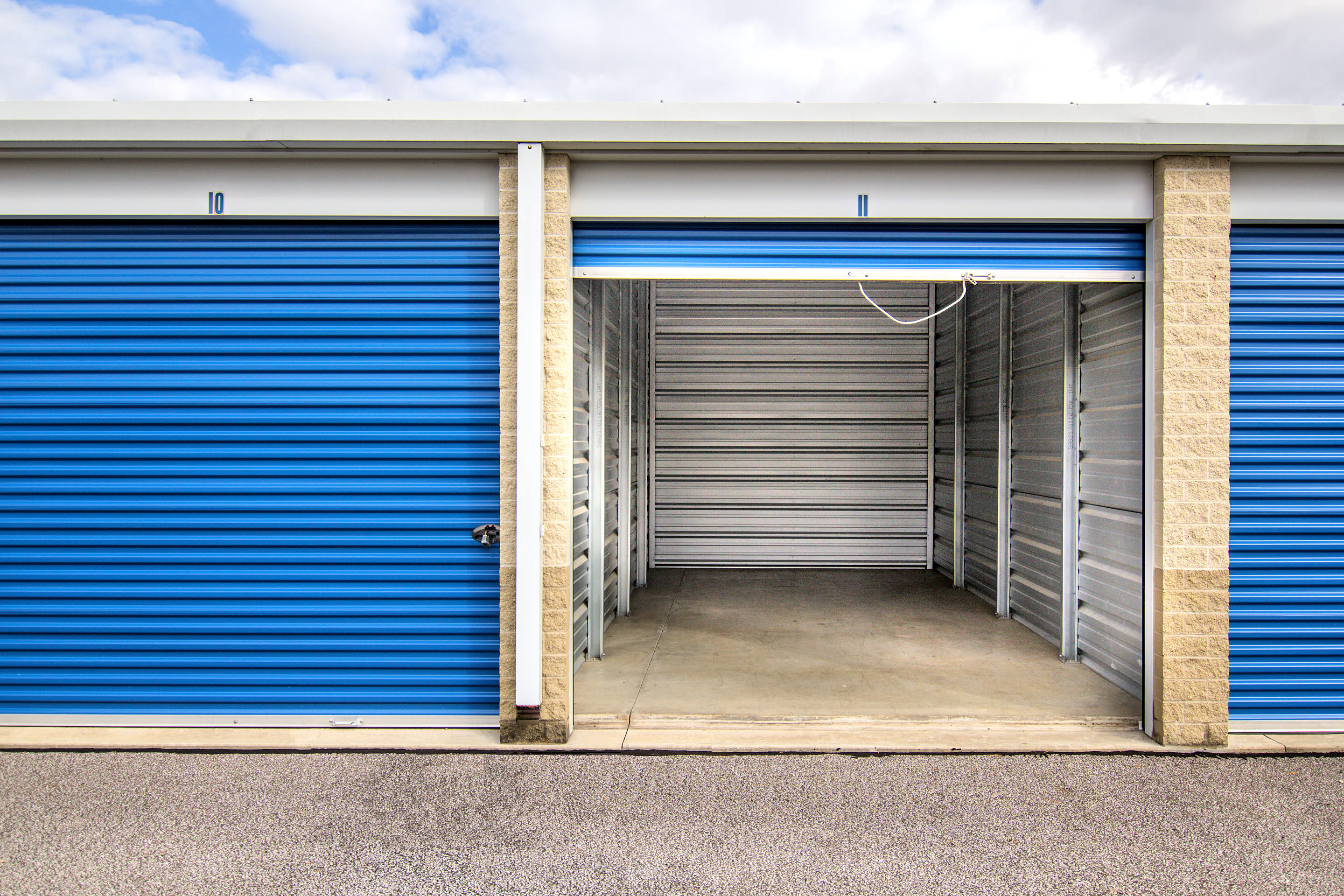 Large drive-up unit at Tyler Self Storage in Mentor, Ohio