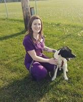 christina at Spring Lake Animal Hospital