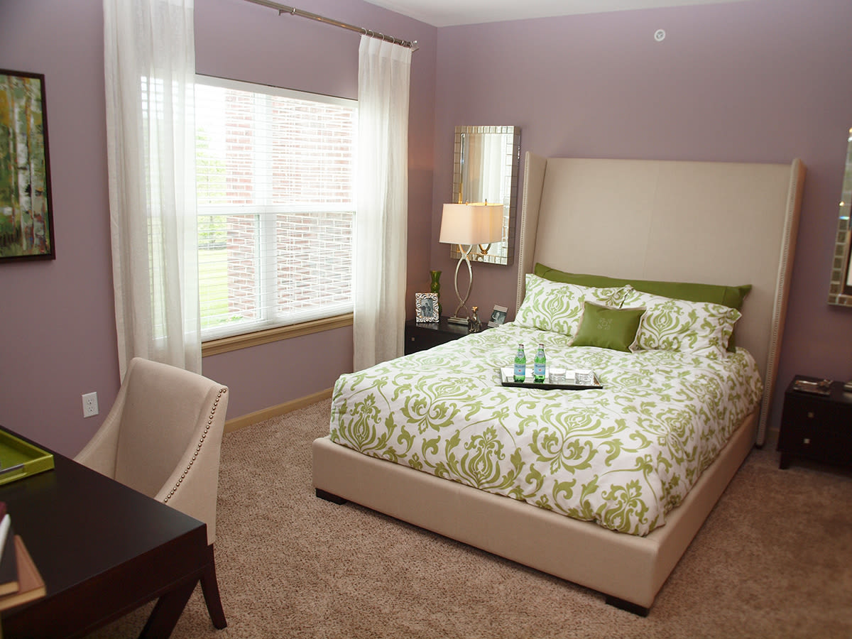 Bedroom at Palmera Apartments