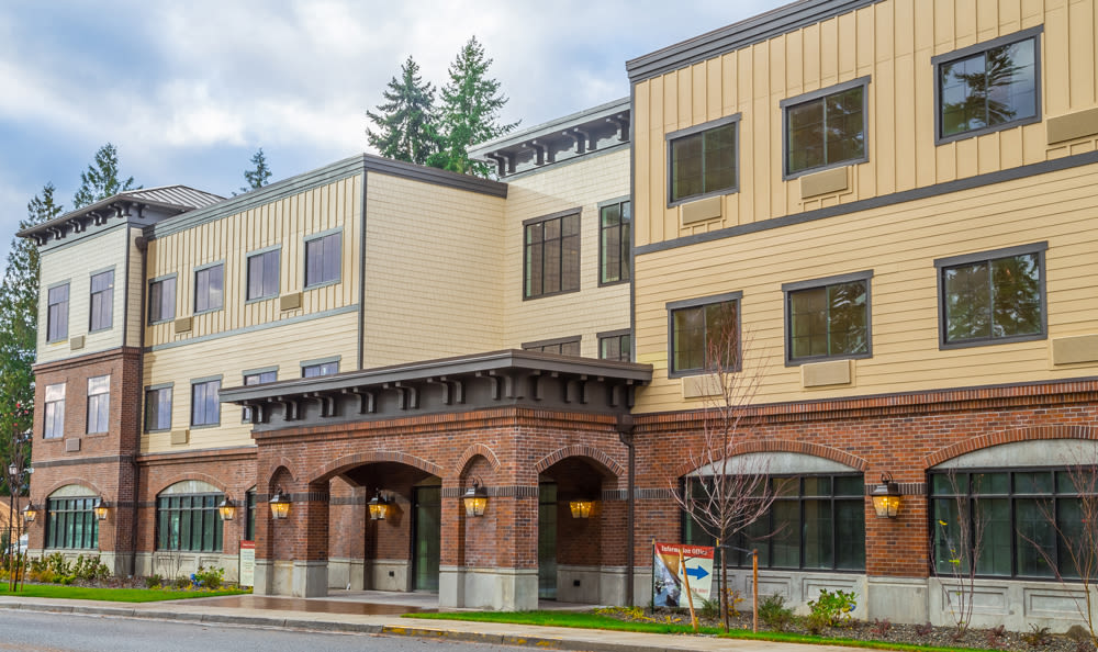 Exterior of Our Senior Living Community In Edmonds
