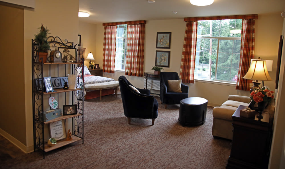Suite Inside Our Senior Living Community In Edmonds