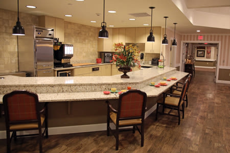 Dining Room Inside Our Senior Living Community In Edmonds
