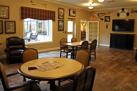 Activities/Game Room Inside Our Senior Living Community In Edmonds