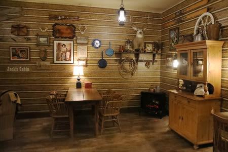 Log Cabin Inspired  Inside Our Senior Living Community In Edmonds