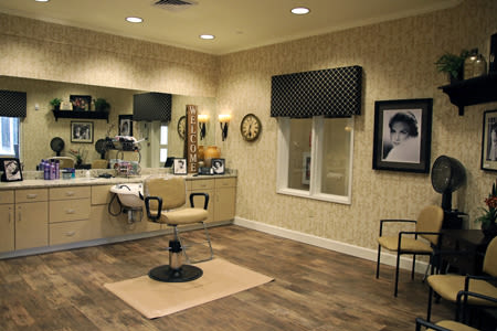 Hair Salon Inside Our Senior Living Community In Edmonds