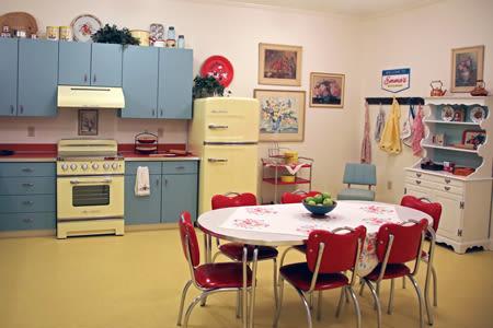 50's Themed Kitchen Inside Our Senior Living Community In Edmonds