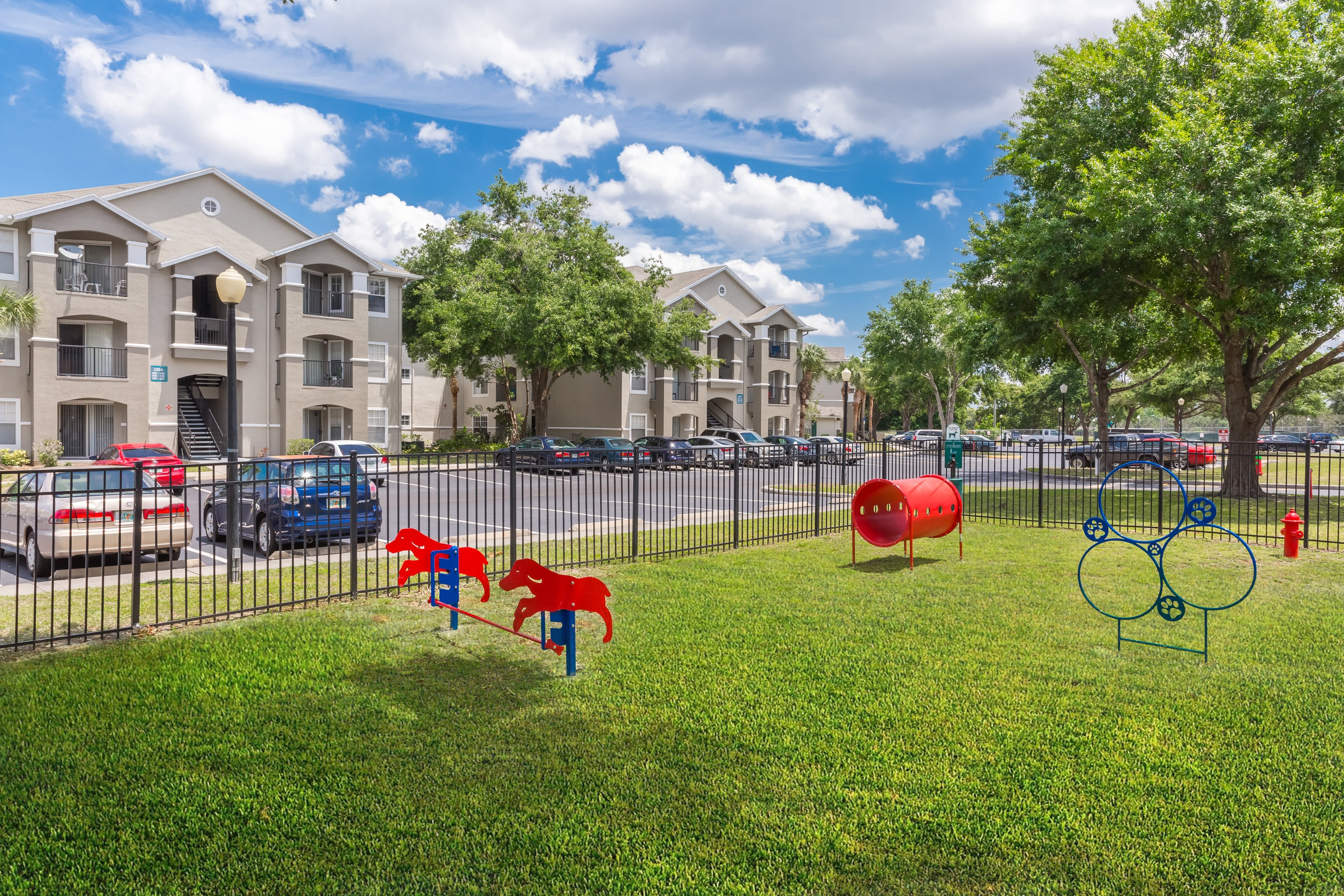 dog bark park for our furry residents at The Avenue in Ocoee