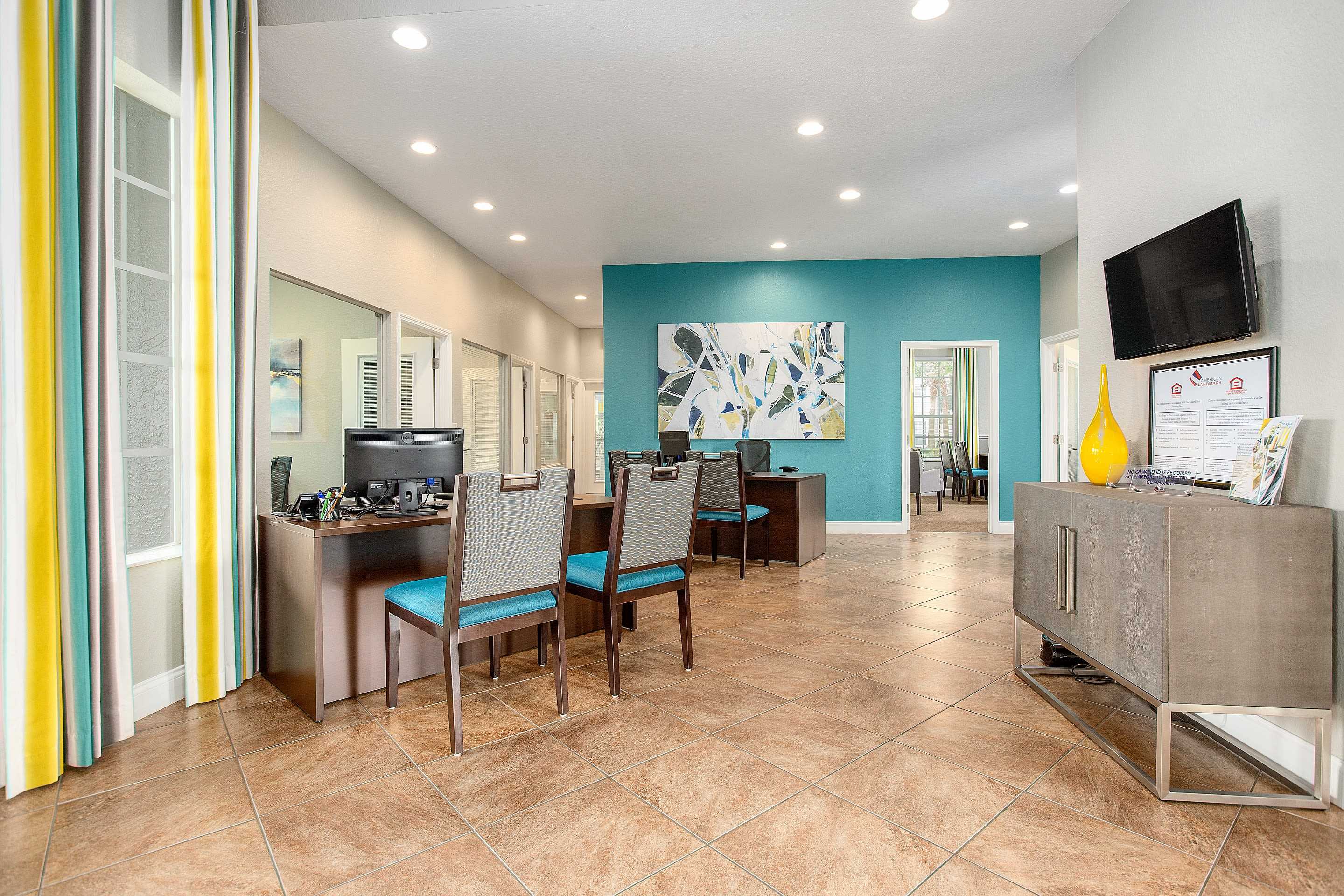 renovated clubhouse at The Avenue in Ocoee