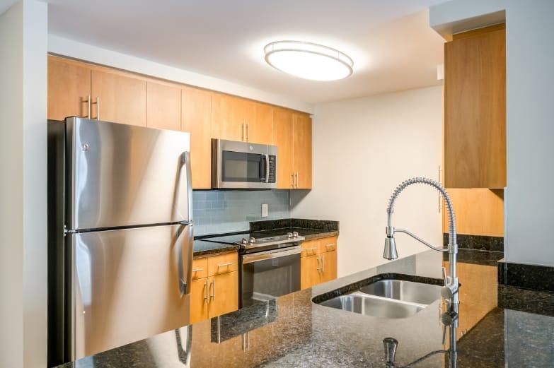 Apartment Kitchen at Bainbridge Companies in North Bethesda, MD