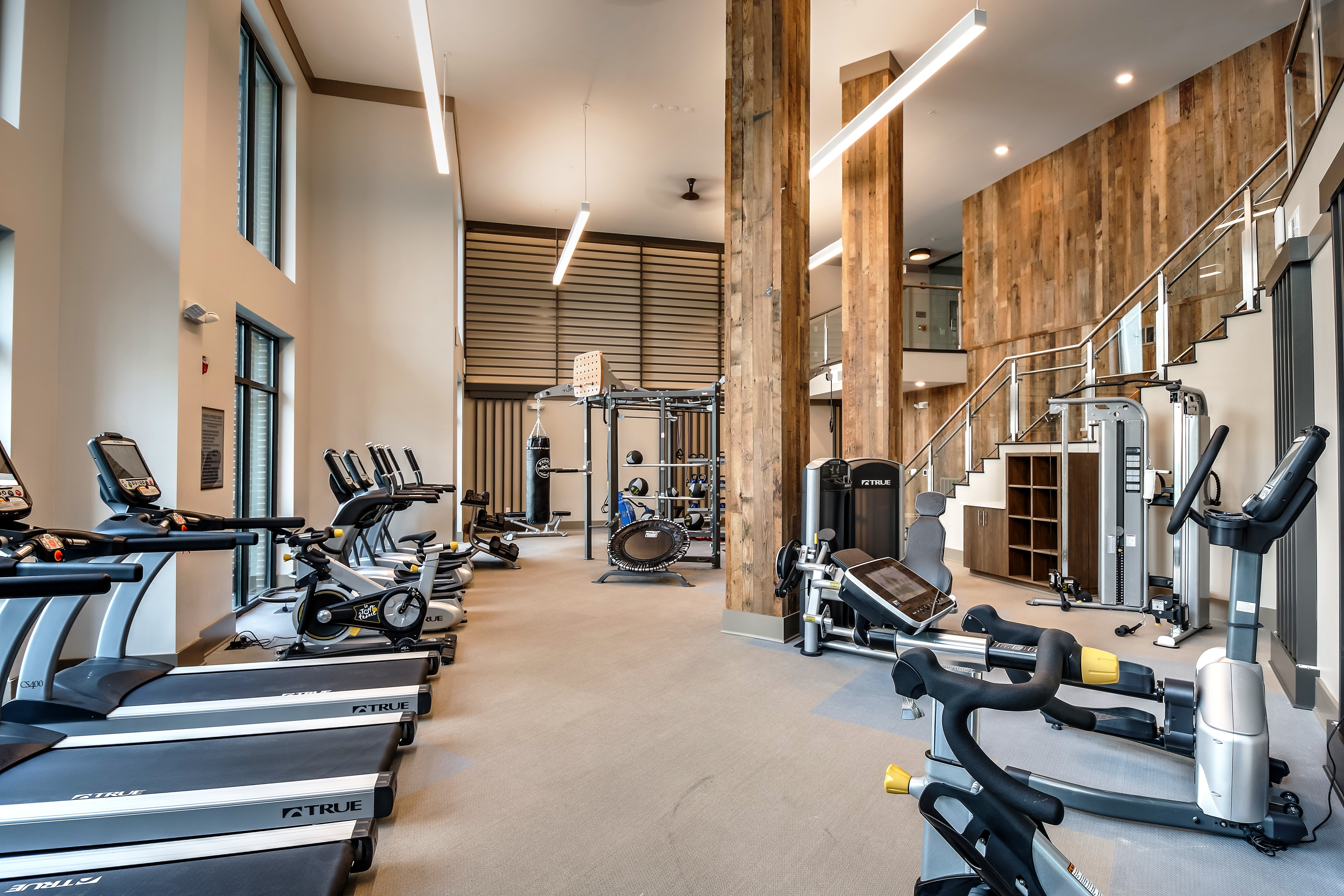 Alta at Jonquil offers a modern fitness center in Smyrna, Georgia