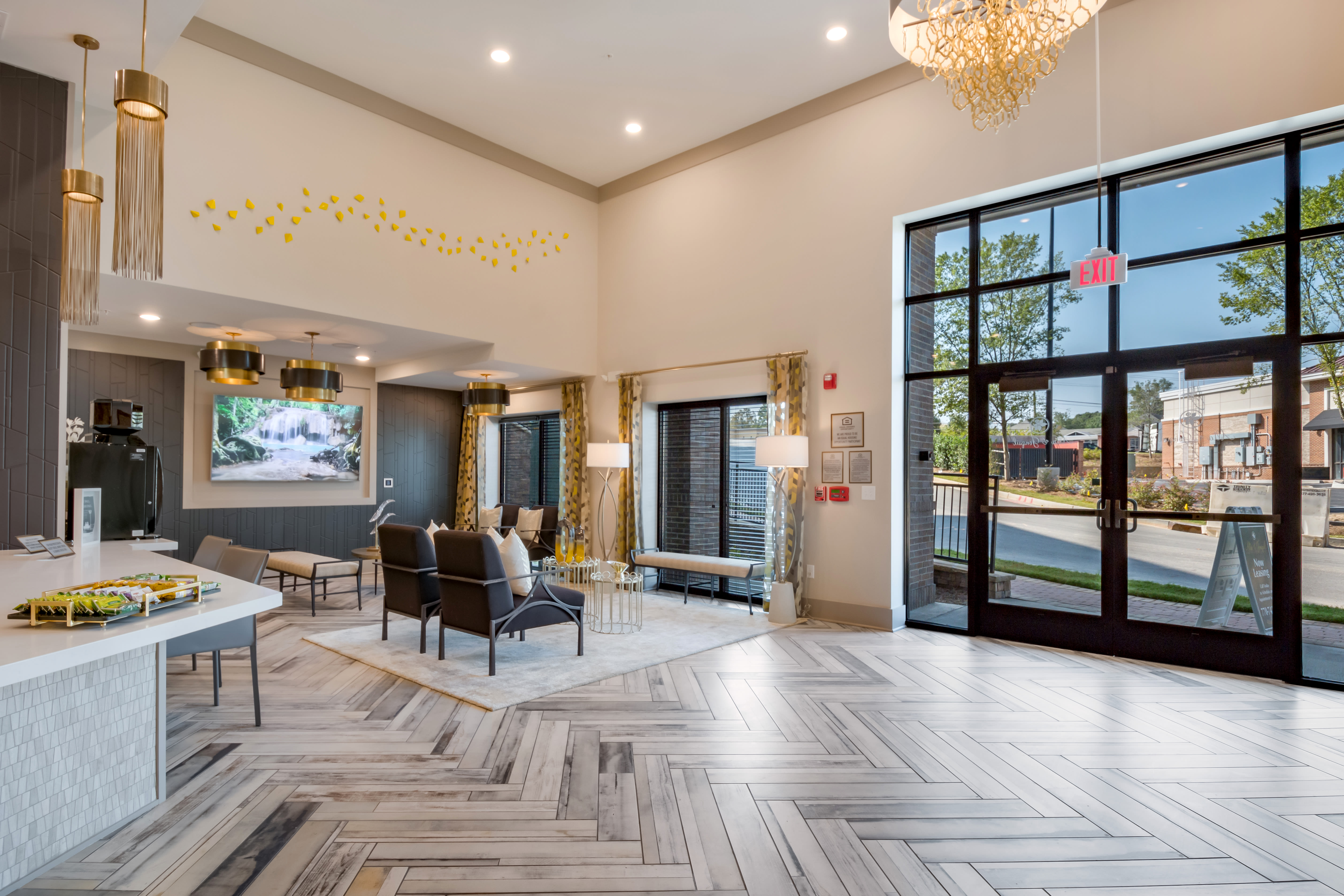 Alta at Jonquil offers a modern club house in Smyrna, Georgia