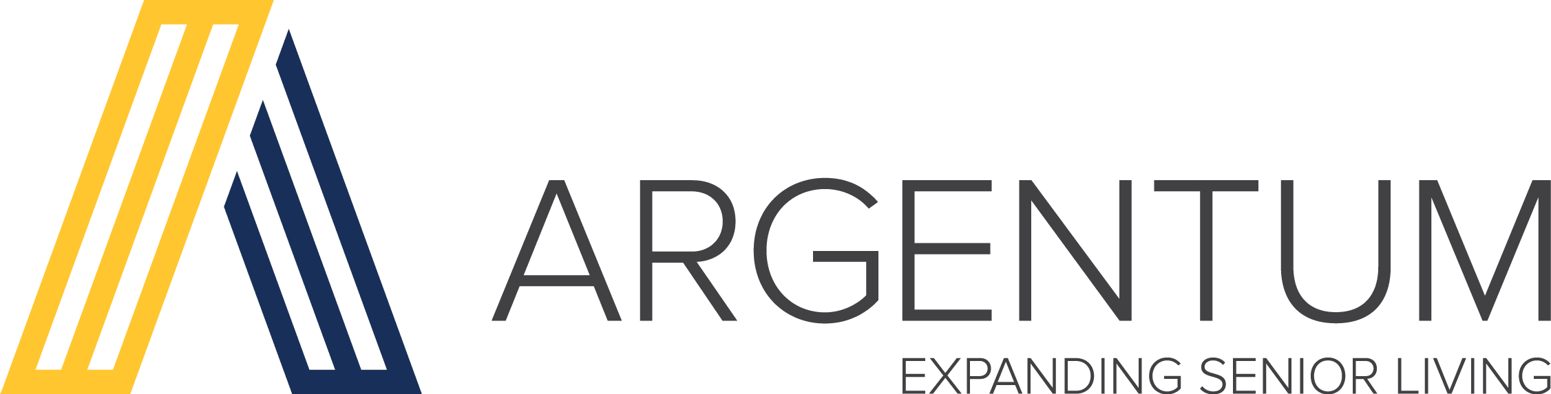 Argentum Expanding senior living logo