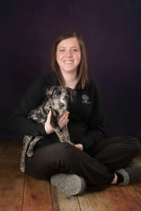 Marissa at Moline Animal Hospital