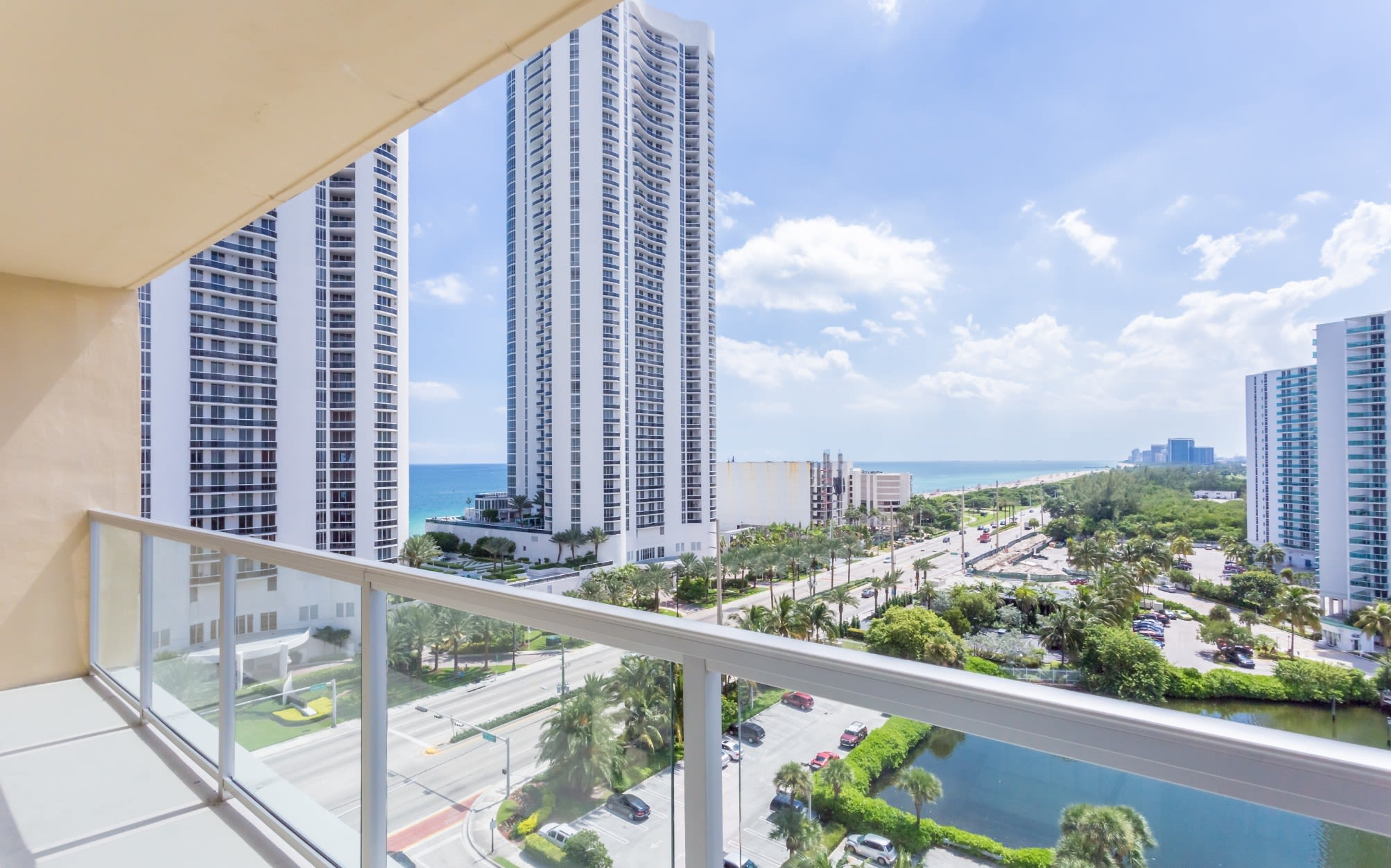 View from our Sunny Isles Beach, FL apartment homes
