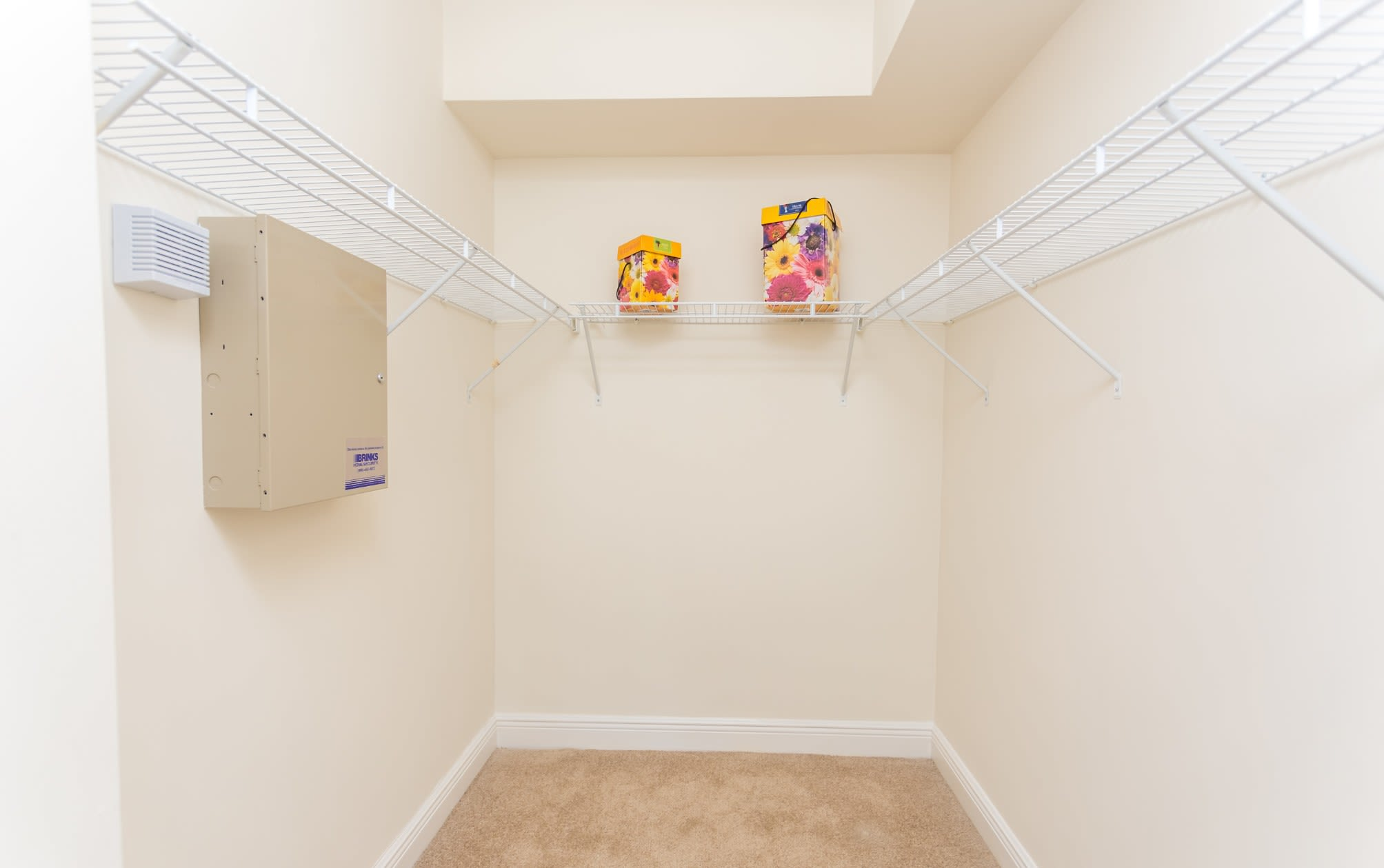 Spacious closets at our Sunny Isles Beach, FL apartment homes