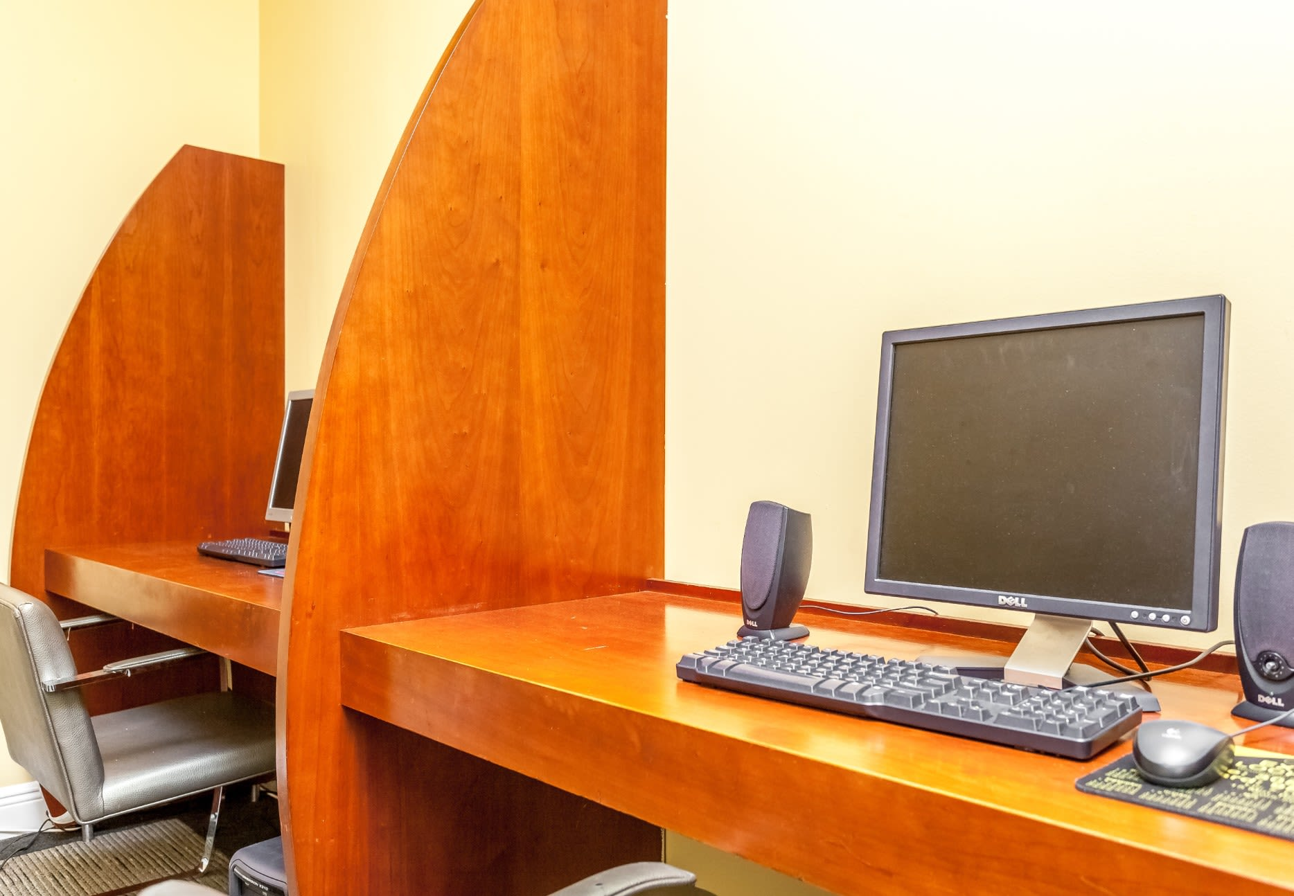 Business center at our Sunny Isles Beach, FL apartment homes