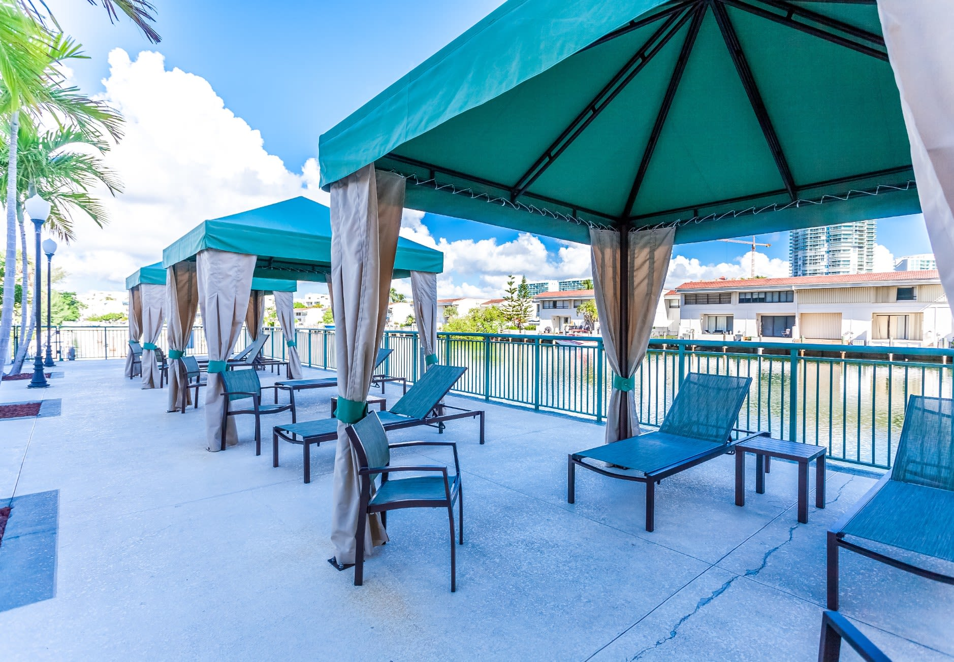 Cabanas at our Sunny Isles Beach, FL apartment homes