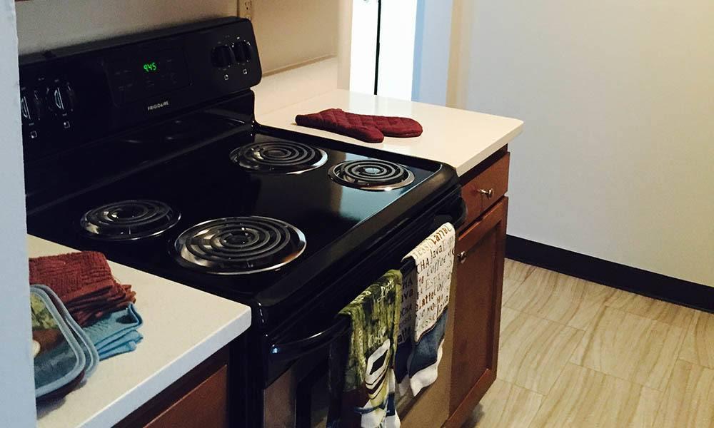 Nashville Apartments have luxury Kitchens