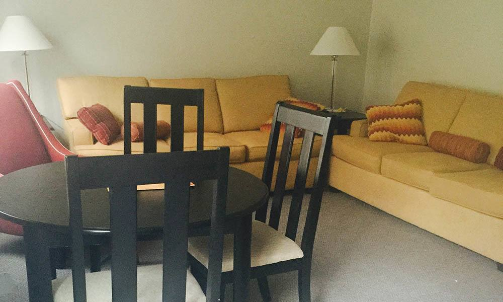 Nashville Apartments have open Living Rooms