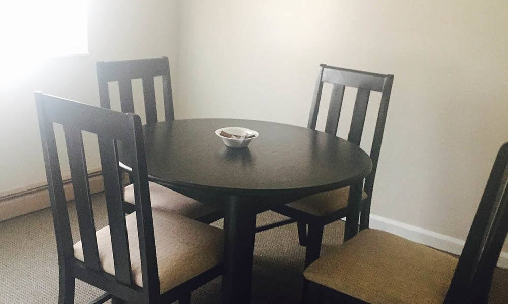 Nashville Apartments have open Dining Rooms