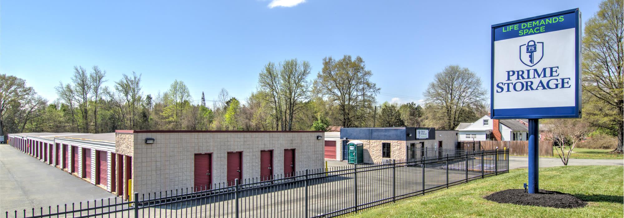 Prime Storage in Ashland, VA