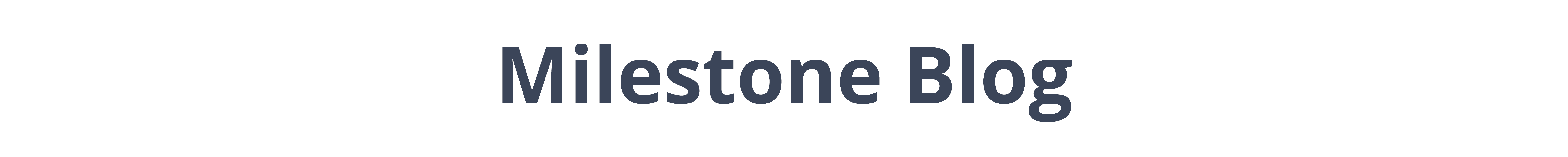 Milestone blog logo for Brookstone Assisted Living Community in Fayetteville, Arkansas