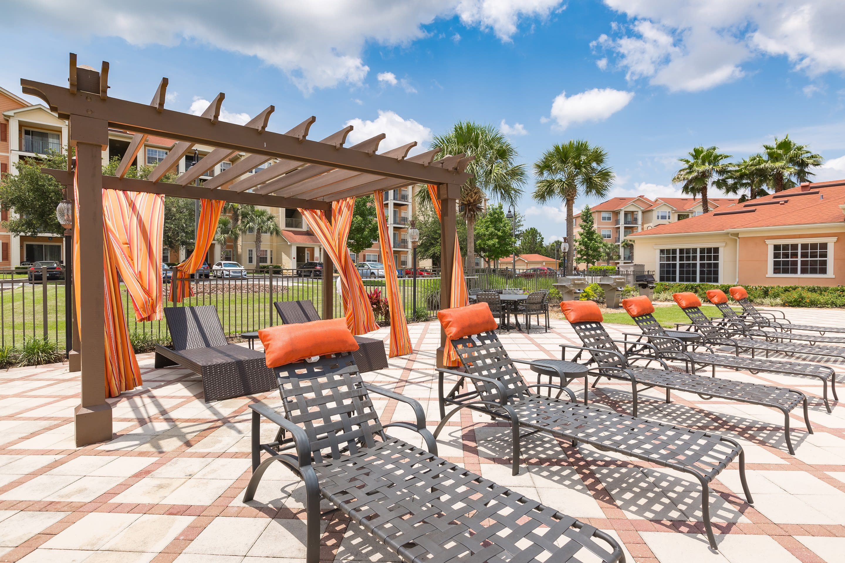 Exteriors of The Aspect in Kissimmee, Florida