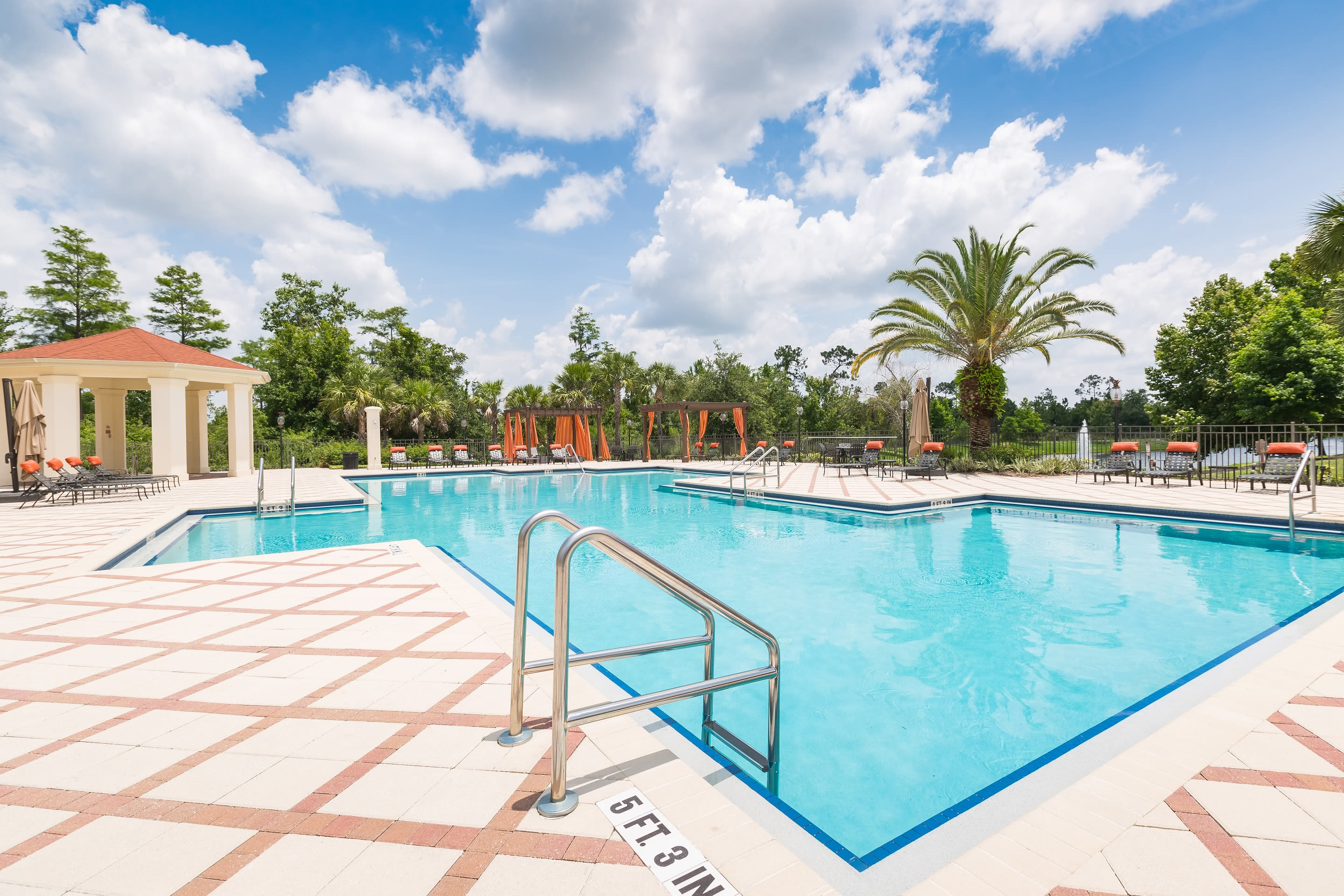 Swimming pool at The Aspect in Kissimmee, Florida