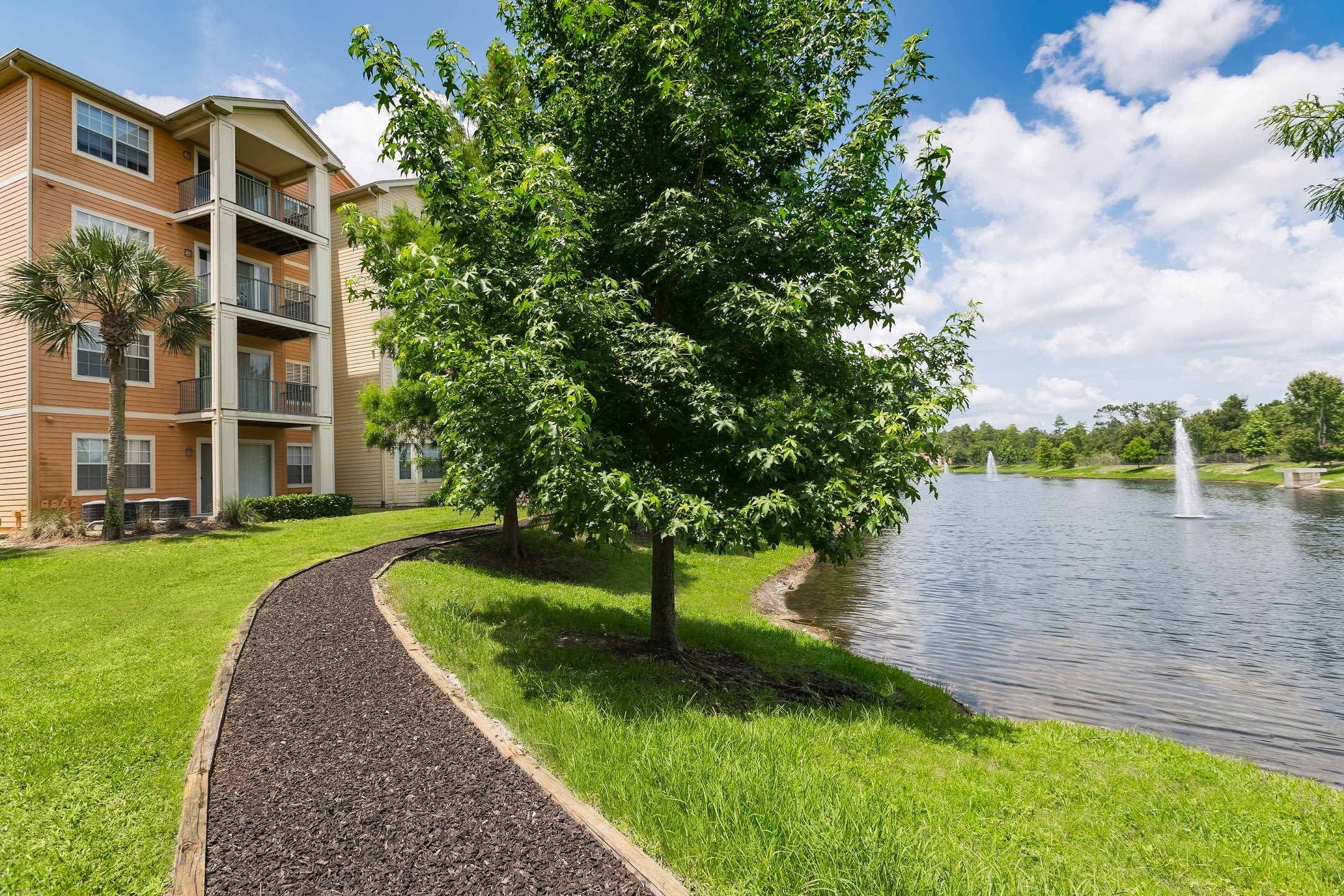Lake view from The Aspect in Kissimmee, Florida