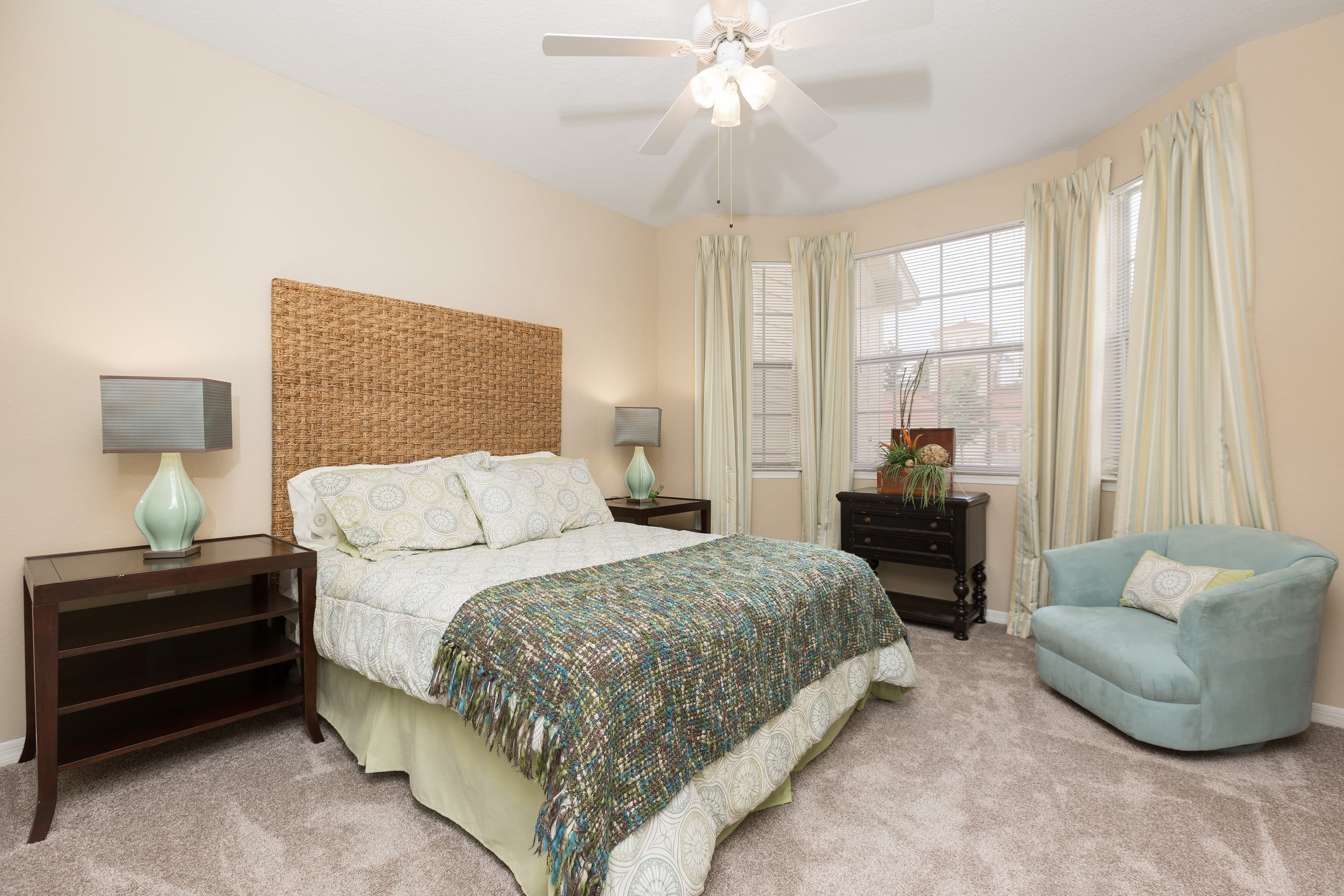 Bedroom at The Aspect in Kissimmee, Florida