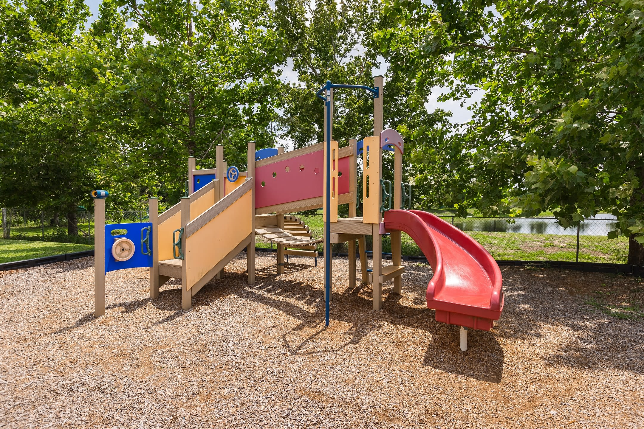 Plain playground at The Aspect in Kissimmee, Florida