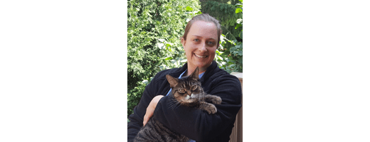 Dr. Smolinski at Thiensville-Mequon Small Animal Clinic